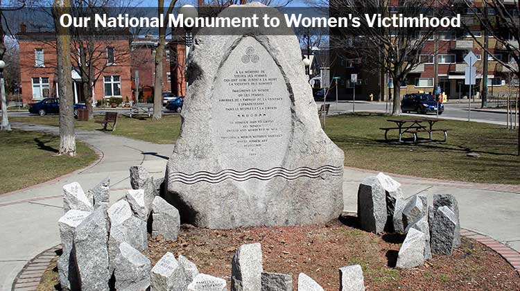 Gamil Gharbi Montreal Massacre Our National Monument to Womens Victimhood