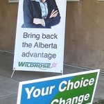 Danielle-Smith-Wildrose-Alliance-signs