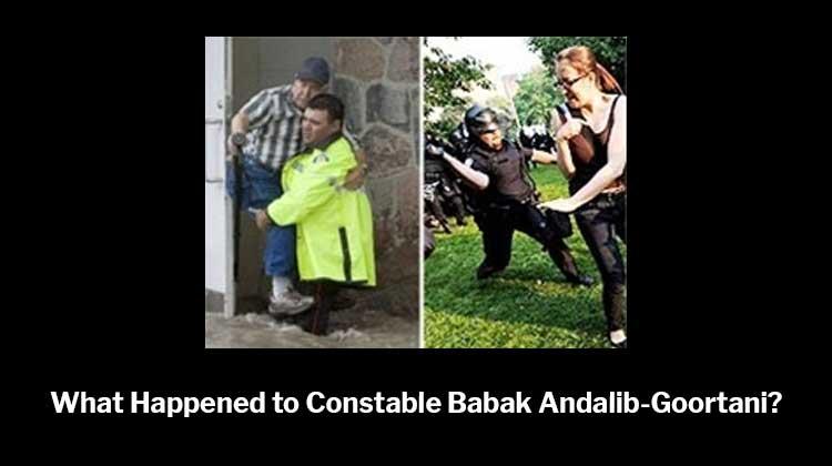 What Happened to Constable Babak Andalib-Goortani?