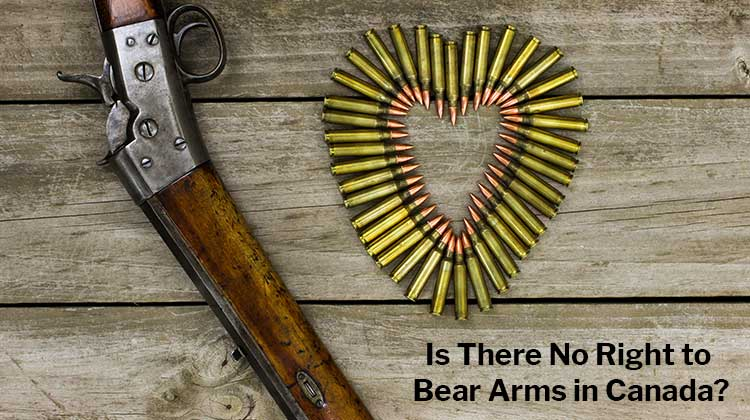 No Right to Bear Arms in Canada?