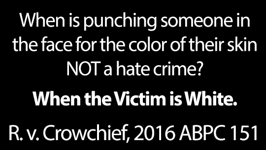Tamara Crowshief Hates White People