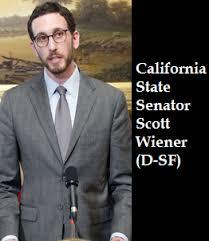 California State Senator Scott Wiener (D-San Francisco)