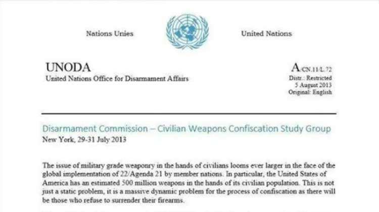 Fake UN Document