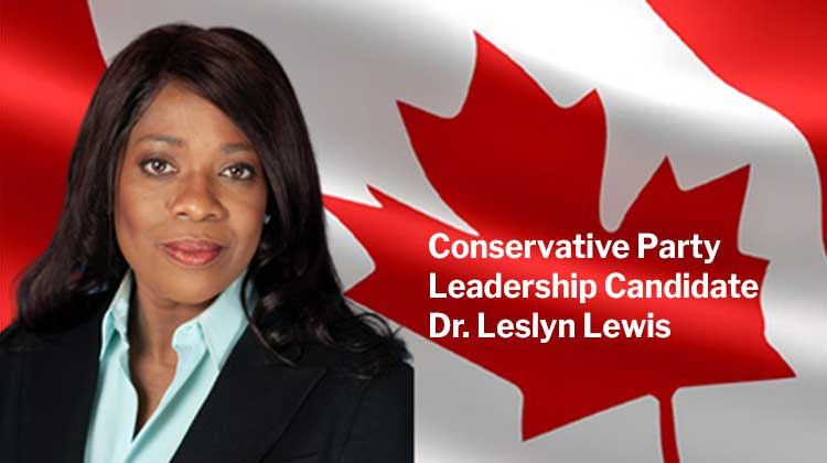 CPC Leadership Candidate Dr. Lesyln Lewis