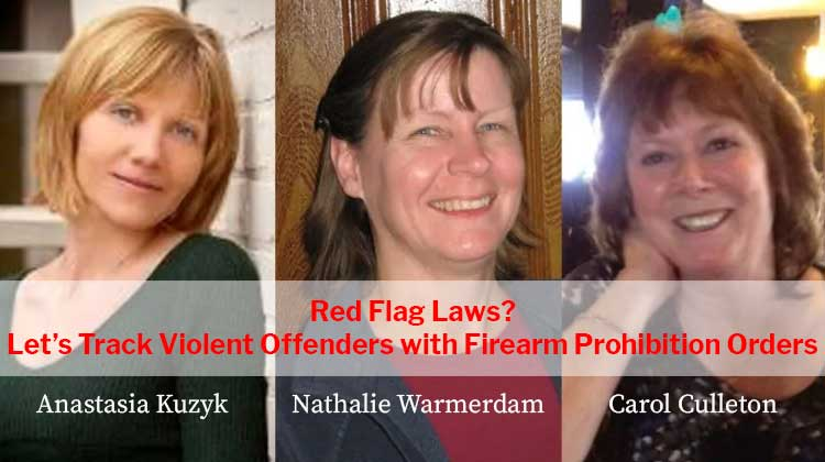 Red Flag Law? Track lifetime Firearm Prohibition Orders