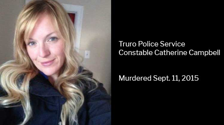 Truro Police Service Constable Catherine Campbell