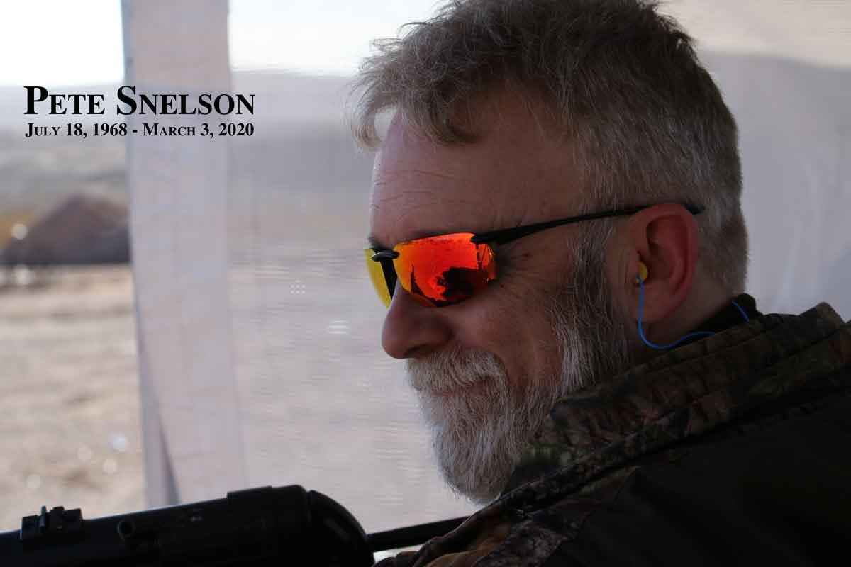 Pete Snelson Rest In Peace