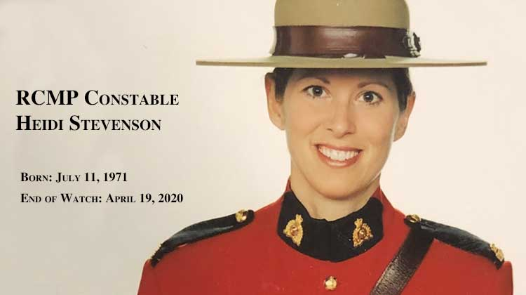 Officer Down: RCMP Constable Heidi Stevenson