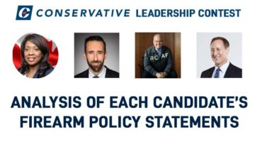 Analysis of Conservative Party Leadership Hopeful Firearm Policy Statements
