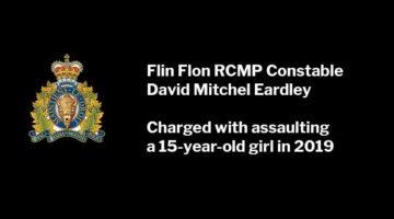 Flin Flon RCMP Constable David Mitchel Eardley Charged with Assault