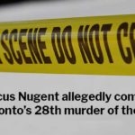 Marcus Nugent allegedly commited Toronto's 28th murder of 2020