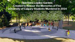 Matthew de Grood: Five Murdered University of Calgary Students Honoured by Quinterra Legacy Garden