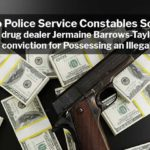 Drug Dealer Jermaine Barrows-Taylor Escapes Illegal Handgun Conviction