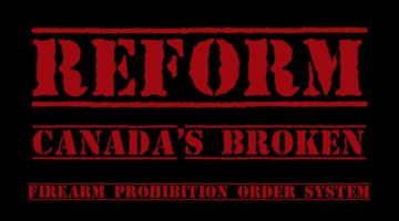 Cameron Robert Vail: Reform Canada's Broken Firearm Prohibition Order System