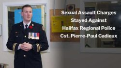 Sexual Assault Charges Stayed Against Const. Pierre-Paul Cadieux