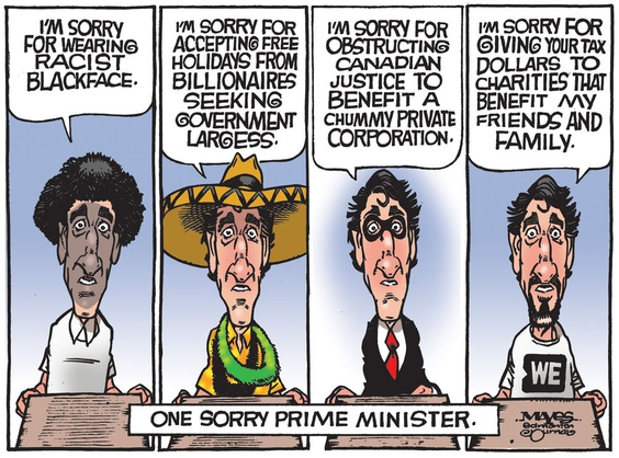 Justin Trudeau Apology is Meanlingless