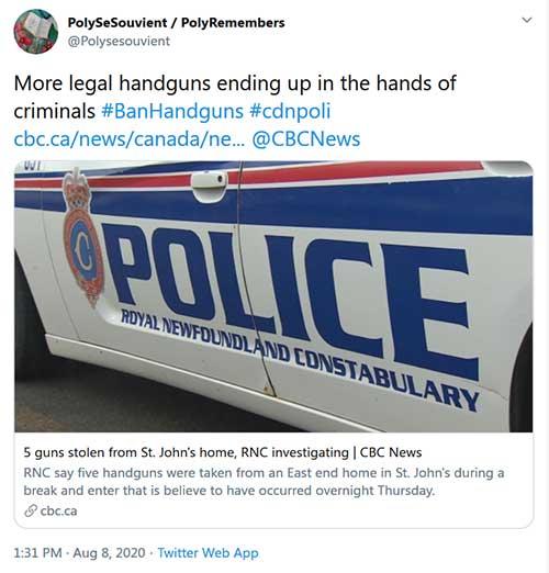 PolySeSouvients Unassailable Logic on Handgun Bans