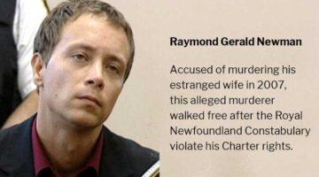 Raymond Gerald Newman Alleged Murderer Set Free