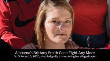Alabama's Brittany Smith gives up, pleads guilty to murdering her rapist