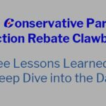 The Conservative Party's Election Rebate Clawback: Three Lessons Learned by a Deep Dive into the Data