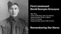 First Lieutenant David Georges Greyeyes