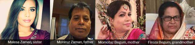 Menhaz Zaman Murder Victims