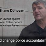 Shane Donovan files lawsuit against Niagara Regional Police Service and Nathan Parker