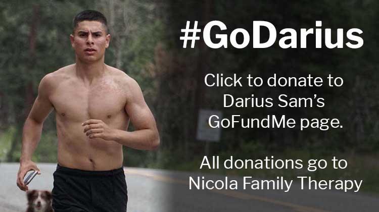 Donate to Darius Sam Now!