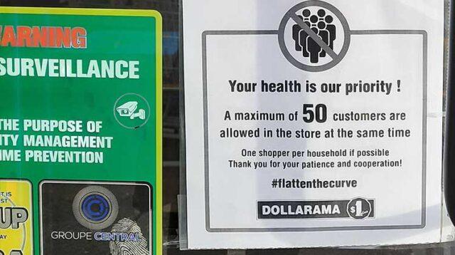 Dollarama Store Capacity: 50