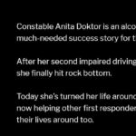 Alcoholic Cop Anita Doktor Finally Hit Rock Bottom