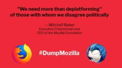 We need more than deplatforming - Mozilla Foundation CEO Mitchell Baker