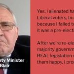 Bill Blair Alienates Liberal Base