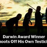 Darwin Award Winner Shoots Off His Own Testicles