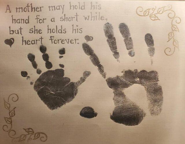 Lindsey Garnham's poem for her son, Blake Harvey