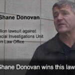Shane Donovan Files $2.5 Million Lawsuit against Ontario SIU and Crown