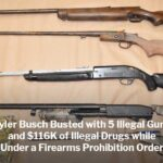 Tyler Busch Busted with Illegal Guns and $116K of Illegal Drugs