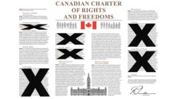 The Charter of Rights and Freedoms is not worth the paper it's printed on.