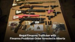 Firearm Smuggler Busted for Violating Firearms Prohibition Order