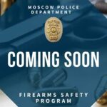 Moscow Police Department Teach Firearms Safety to Those Charged with Negligent Discharge of a Firearm