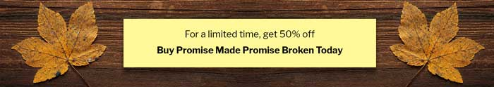 Promise Made Promise Broken On Sale for a Limited Time