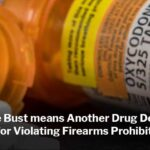 Oxycodone Bust means Another Drug Dealer Faces Charges for Violating Firearms Prohibition Order