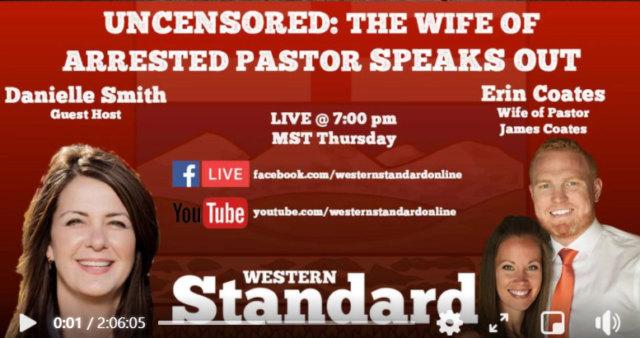 Watch Western Standard Live with Erin Coates and Danielle Smith