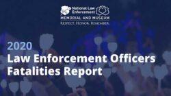 American Law Enforcement Line of Duty Deaths in 2020