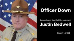 Officer Down: Decatur County Sheriff's Office Lieutenant Justin Bedwell