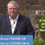 Doug Ford: It Takes Courage and Character to Admit You Made a Mistake