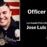 Los Angeles Police Department Officer Jose Luis Anzora