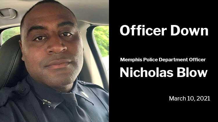 Memphis Police Department Officer Nicholas Blow
