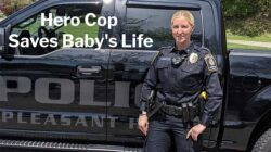 Officer Kristin Mitrisin: Hero Cop Saves 9-day-old Baby's Life