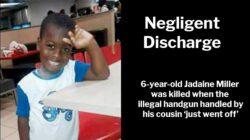 Negligent Discharge: 6-year-old Jadaine Miller killed in Jamaica