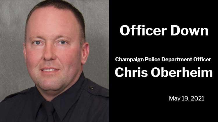 Officer Down Champaign Police Department Officer Chris Oberheim